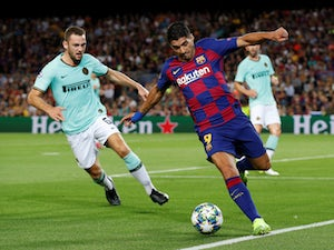 Luis Suarez nets double as Barca beat Inter Milan