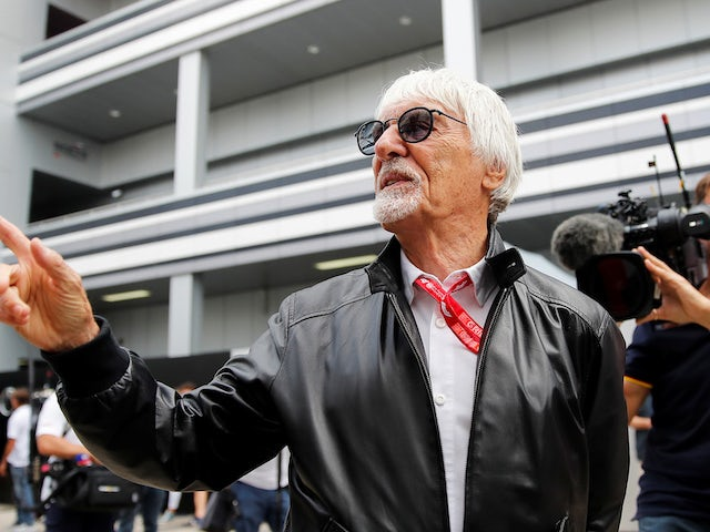 Bernie Ecclestone pictured on September 27, 2019