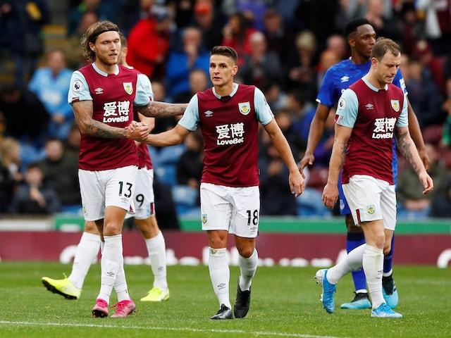 Result: Pressure mounts on Silva as Hendrick helps Burnley past Everton