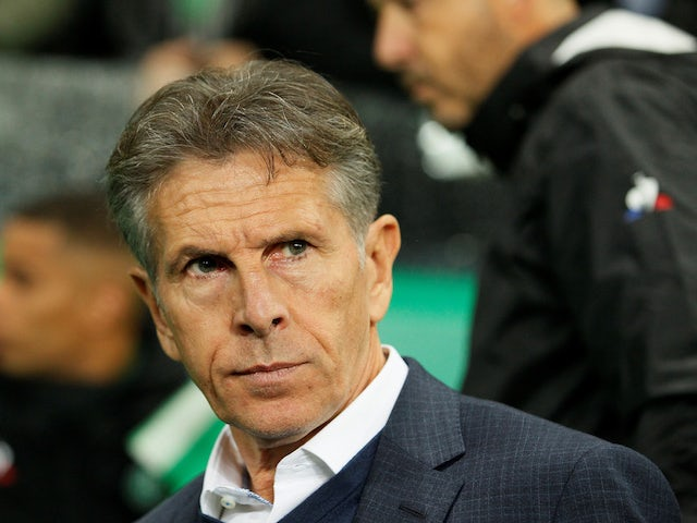 Result: Claude Puel marks first Saint-Etienne game with late derby win over Lyon