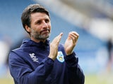 Huddersfield boss Danny Cowley applauds on October 5, 2019