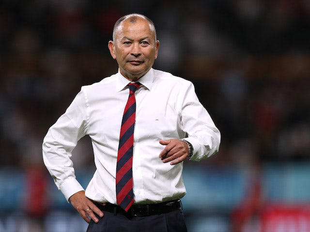 Eddie Jones gearing England up for