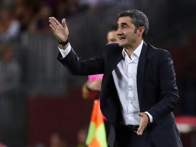 Ernesto Valverde: 'Barcelona are on a good run'