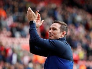 Chelsea boss Frank Lampard applauds on October 6, 2019