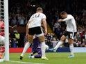 Aleksandar Mitrovic scores for Fulham on October 5, 2019