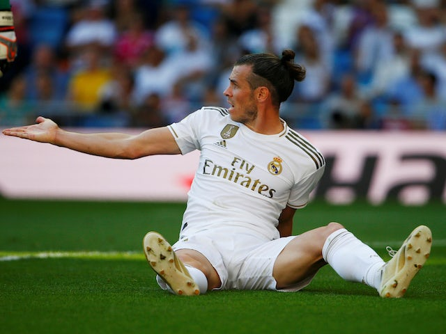 Gareth Bale in action for Real Madrid on October 5, 2019