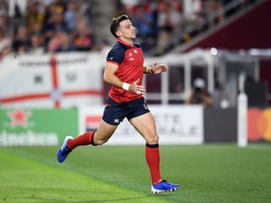 George Ford starts at fly-half for England in Rugby World Cup final