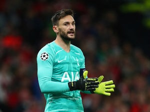 Hugo Lloris returns to Tottenham training