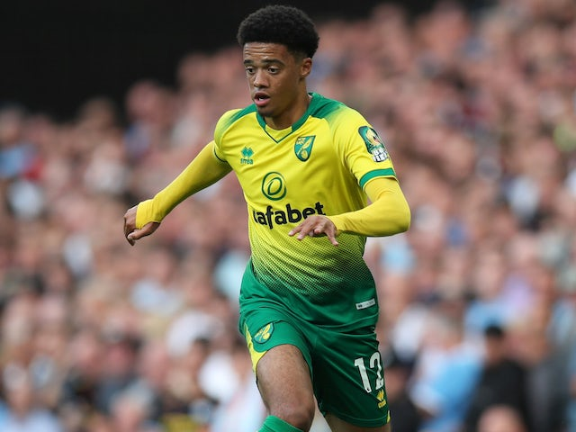 Jamal Lewis in action for Norwich City on September 21, 2019