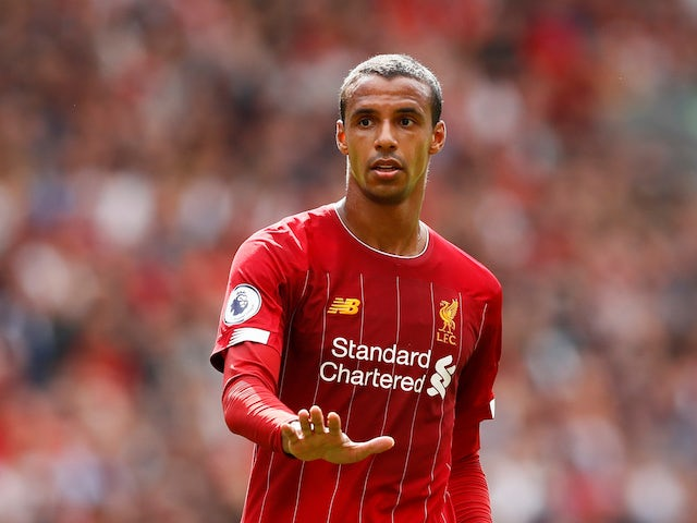 Liverpool defender Joel Matip pictured on September 14, 2019