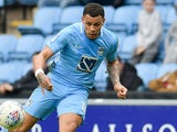 Jonson Clarke-Harris in action for Coventry City in March 2018
