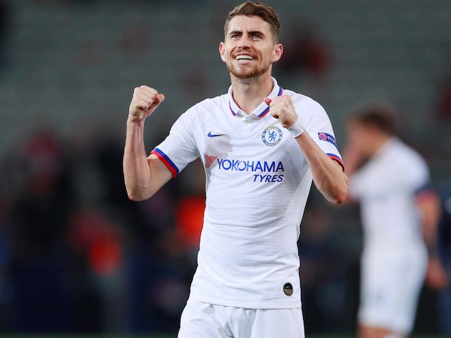 Jorginho in action for Chelsea on October 2, 2019