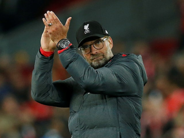 Liverpool manager Jurgen Klopp on October 2, 2019