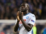 Kalidou Koulibaly in action for Napoli on October 2, 2019