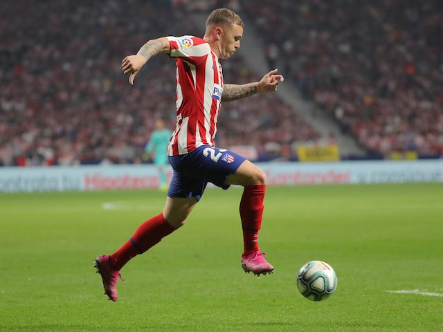 Kieran Trippier in action for Atletico Madrid on September 28, 2019