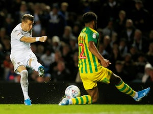 Leeds beat West Brom to replace Baggies at top of Championship