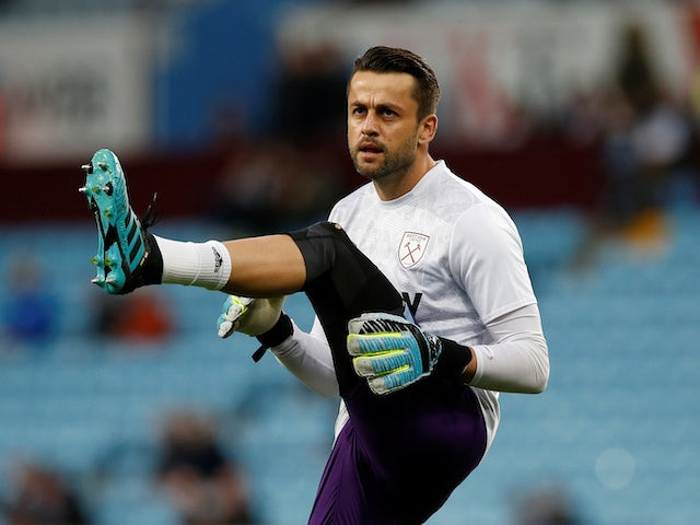 West Ham without Lukasz Fabianski against Palace