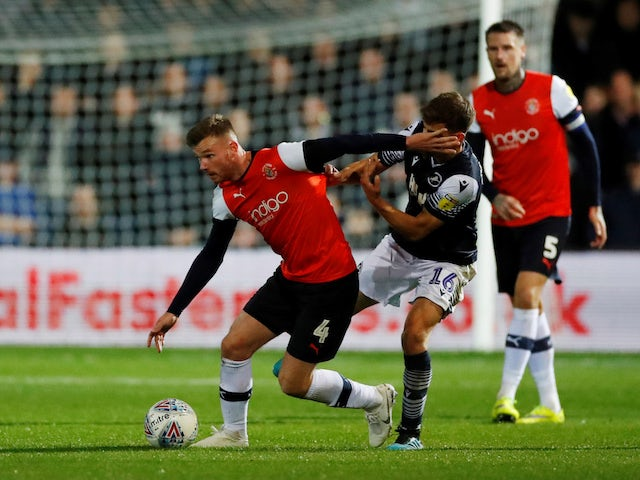 Result: Callum McManaman rescues late Luton point against Millwall