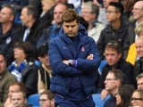 Forlorn Spurs boss Mauricio Pochettino on October 5, 2019