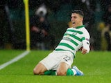 Mohamed Elyounoussi in action for Celtic on October 3, 2019