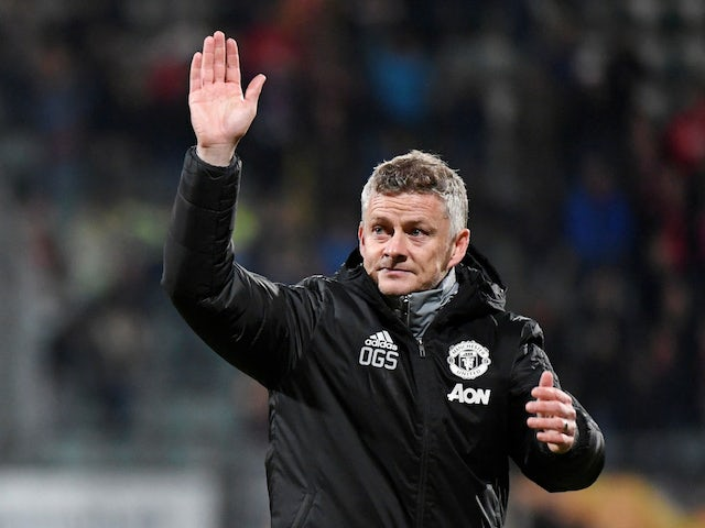 Manchester United manager Ole Gunnar Solskjaer on October 3, 2019