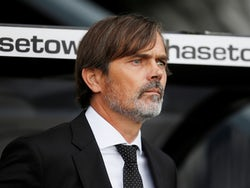 Derby boss Phillip Cocu on October 5, 2019