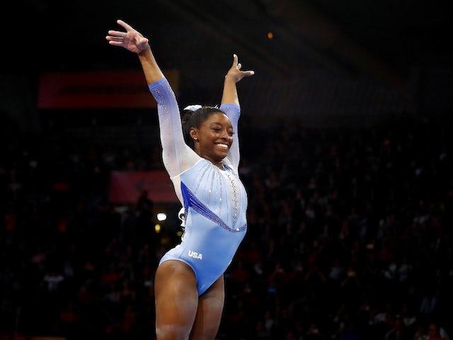 Tokyo 2020: Simone Biles thanks gymnasts for