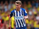 Solly March in action for Brighton on August 12, 2019