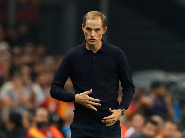 PSG manager Thomas Tuchel pictured on October 1, 2019