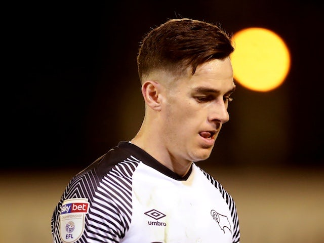 Derby's Tom Lawrence apologises after drink-driving allegations