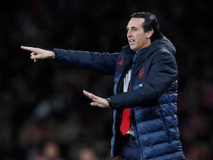 Arsenal boss Unai Emery pictured on October 3, 2019