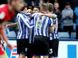 Massimo Luongo celebrates scoring for Sheffield Wednesday on October 5, 2019