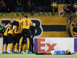 Rangers suffer late Europa League defeat to Young Boys