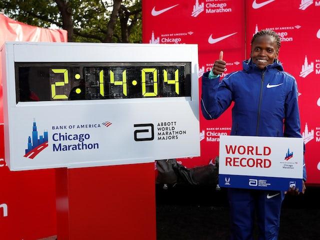 Brigid Kosgei admits she did not expect to beat Paula Radcliffe marathon record