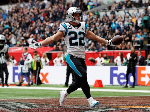 Result: Christian McCaffrey leads Panthers to London victory over Tampa Bay