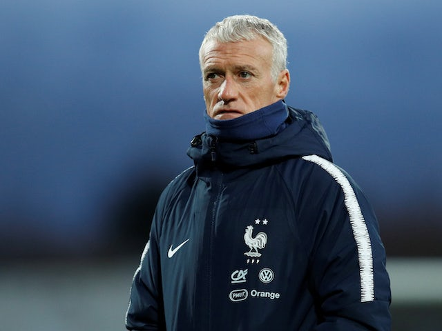 France boss Didier Deschamps pictured on October 10, 2019