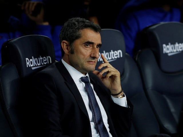 Barcelona players 'want Ernesto Valverde to stay'