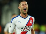 Gary Cahill in action for Crystal Palace on October 5, 2019