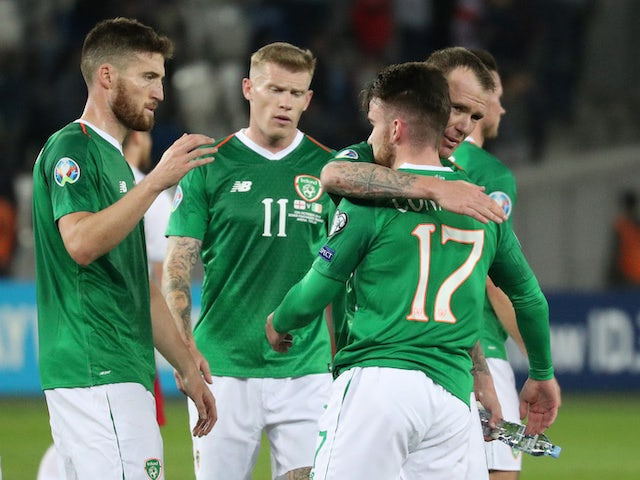 Result: Republic of Ireland held by Georgia