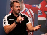 Salford Red Devils coach Ian Watson on October 7, 2019