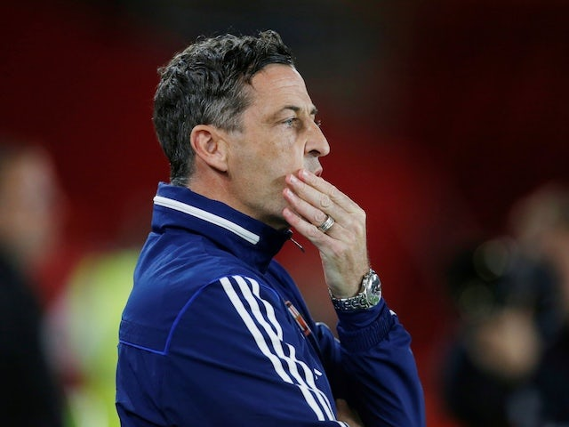 Jack Ross pictured in charge of Sunderland in September 2019