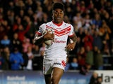 Kevin Naiqama in action for St Helens on September 27, 2019