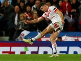 Lachlan Coote in action for St Helens during the Super League Grand Final on October 12, 2019