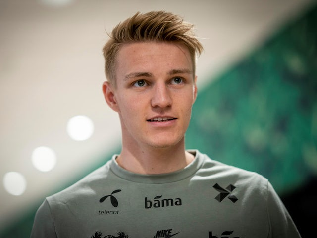 Martin Odegaard pictured in June 2019