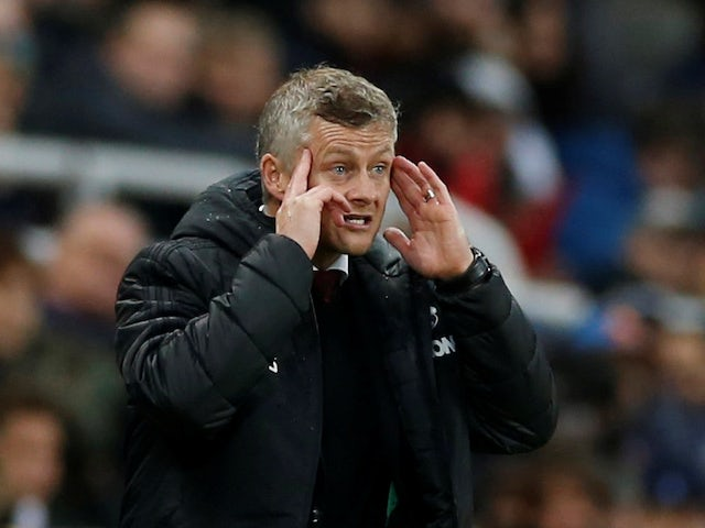 Manchester United manager Ole Gunnar Solskjaer pictured on October 6, 2019