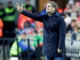 Spain coach Robert Moreno on October 12, 2019