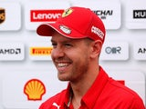 Sebastian Vettel on October 10, 2019