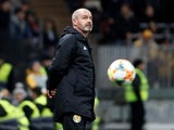 Scotland boss Steve Clarke on October 10, 2019