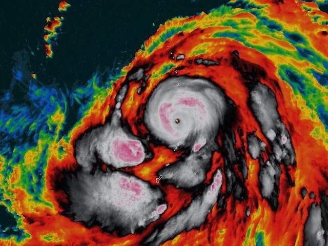Super Typhoon Hagibis on course to affect England vs. France