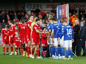 Accrington thank Ipswich fans for Billy Kee support